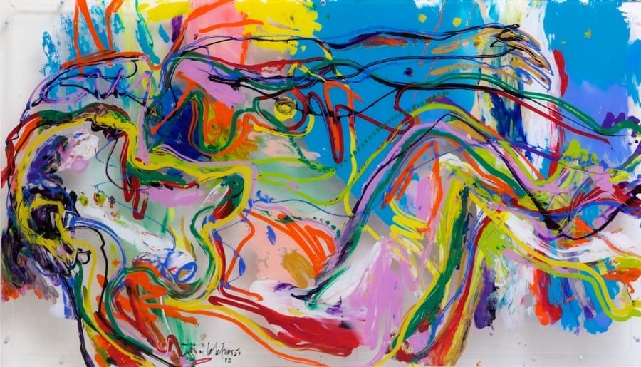Kunst: Two women van kunstenaar Jan van Lokhorst