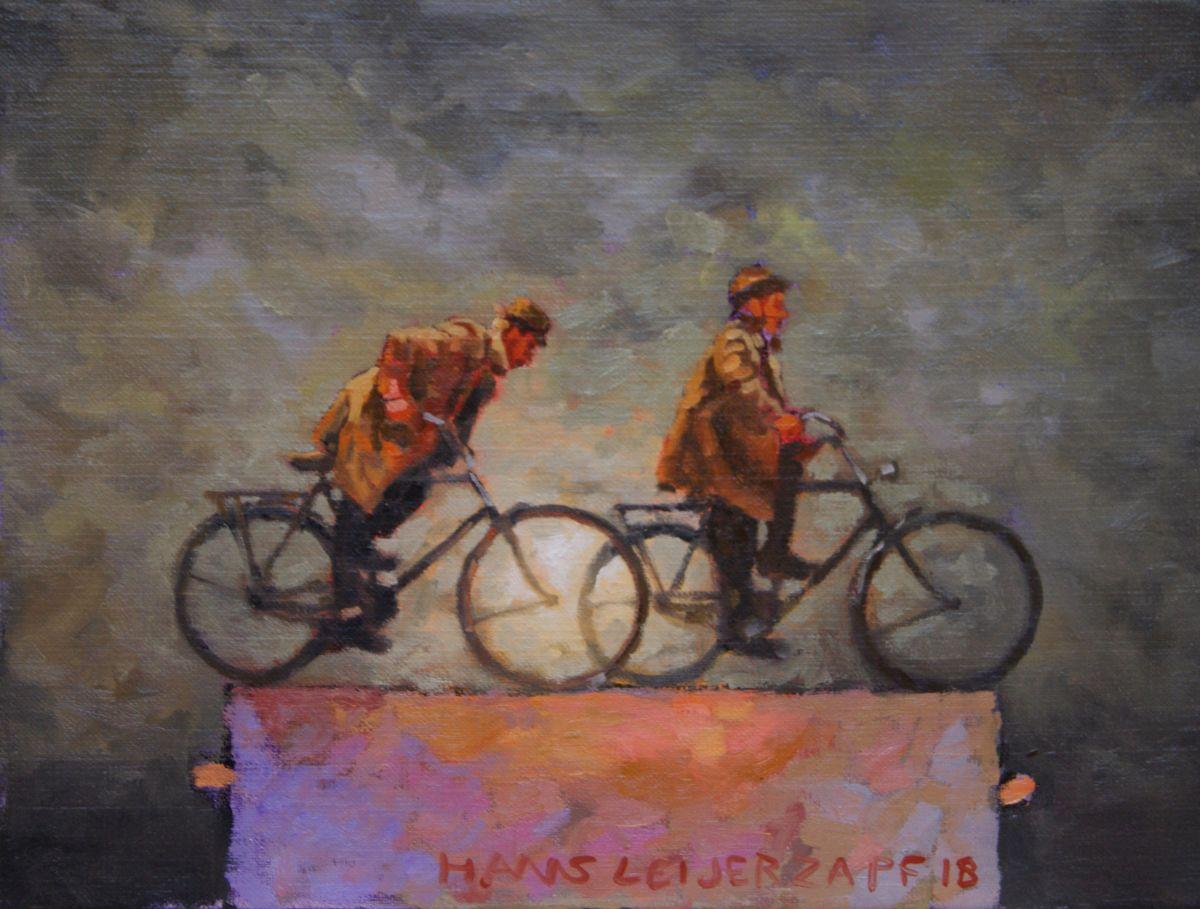 Kunst: Uit het wiel van kunstenaar Hans Leijerzapf