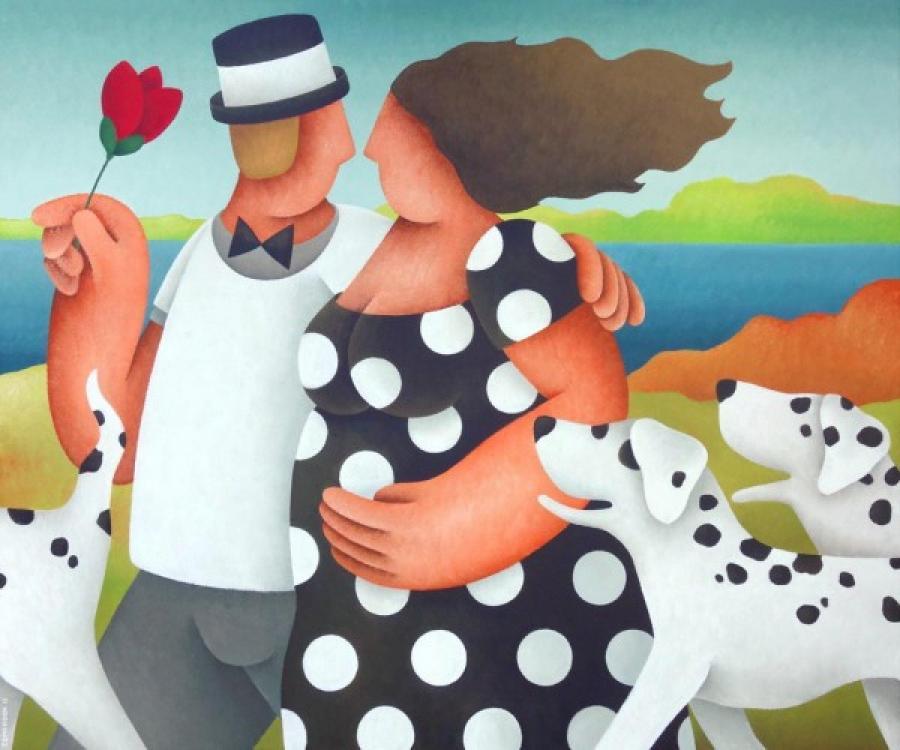 Kunst: Uitgelaten van kunstenaar Yvonne Zomerdijk