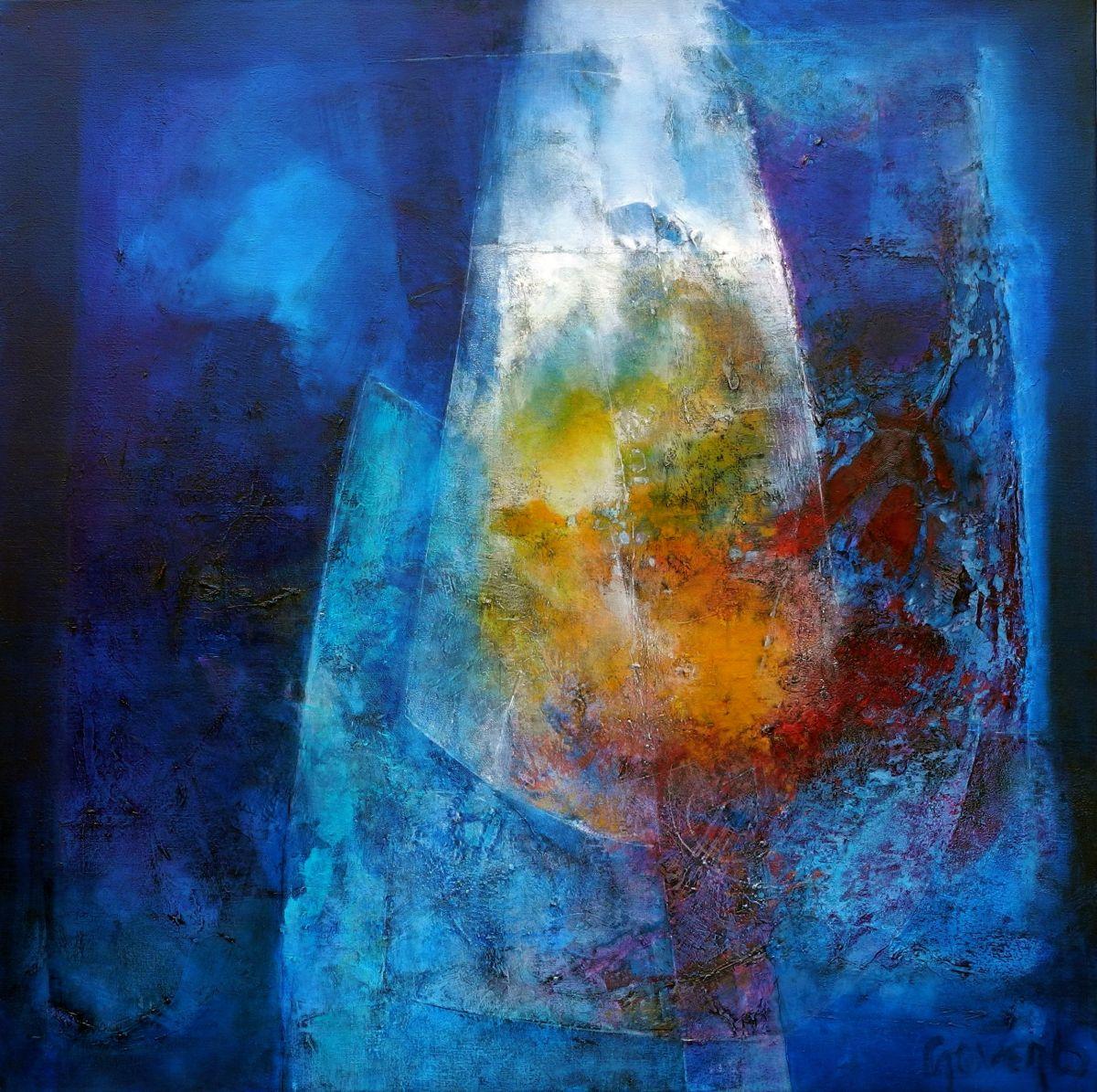 Kunst: une rencontre spéciale van kunstenaar Sietse Goverts