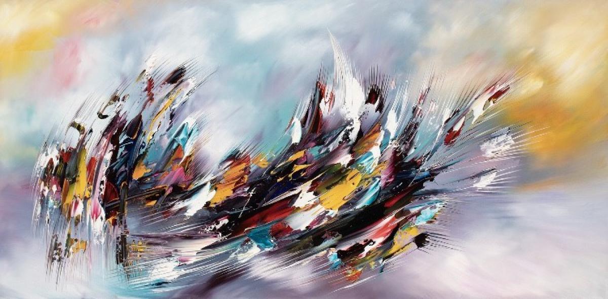 Kunst: Universum van kunstenaar Gena n Gena