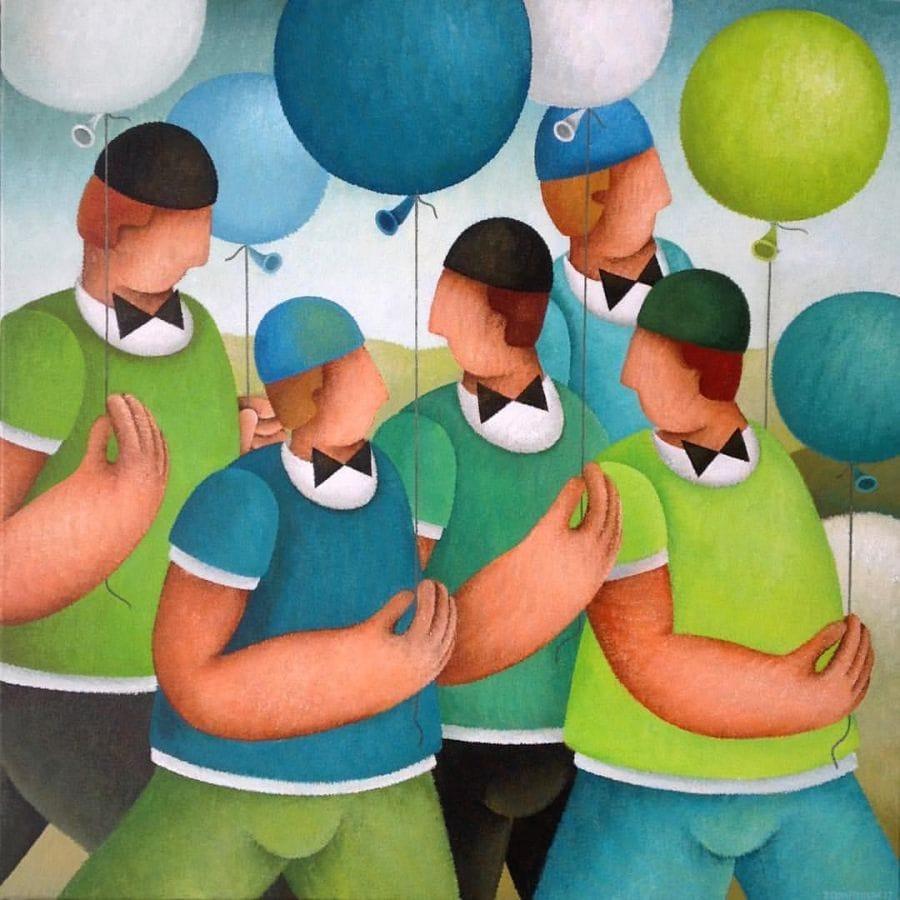 Kunst: Up van kunstenaar Yvonne Zomerdijk