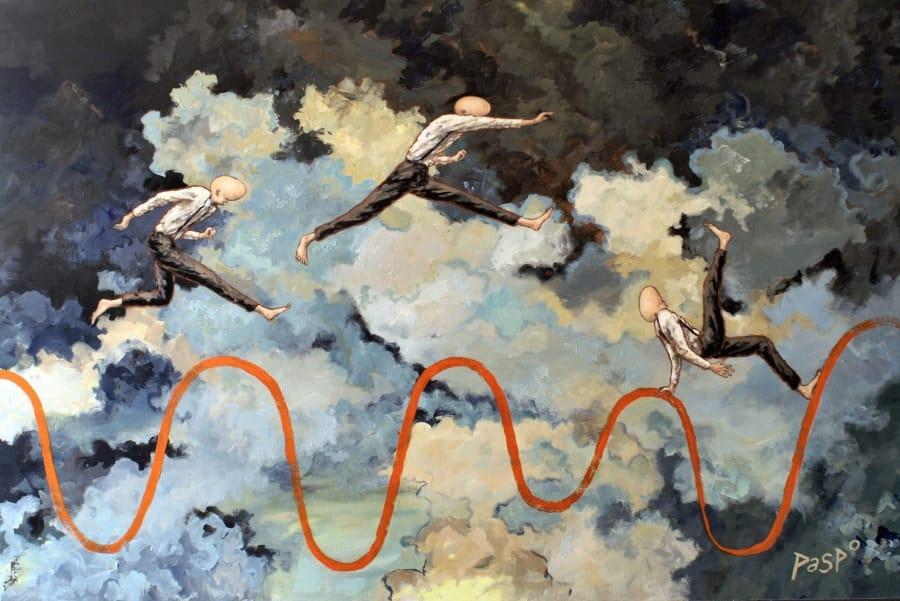 Kunst: Ups & Downs van kunstenaar Paddy Spoelder