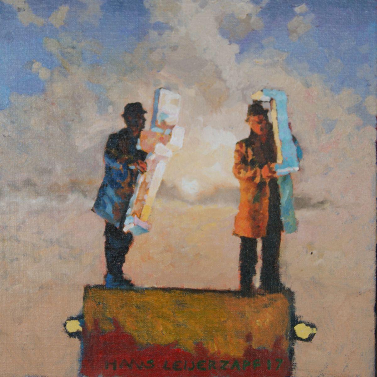 Kunst: Uren mee zoet van kunstenaar Hans Leijerzapf