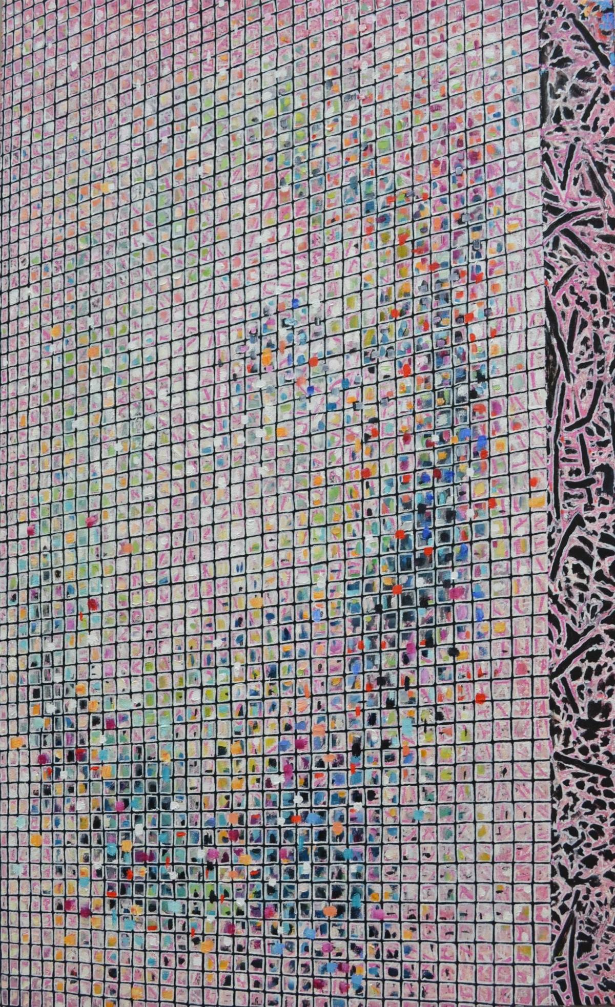 Kunst: V 2018 M van kunstenaar Martin Copier