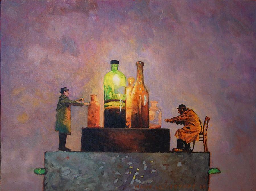 Kunst: Vaker maar niet uitsluitend van kunstenaar Hans Leijerzapf