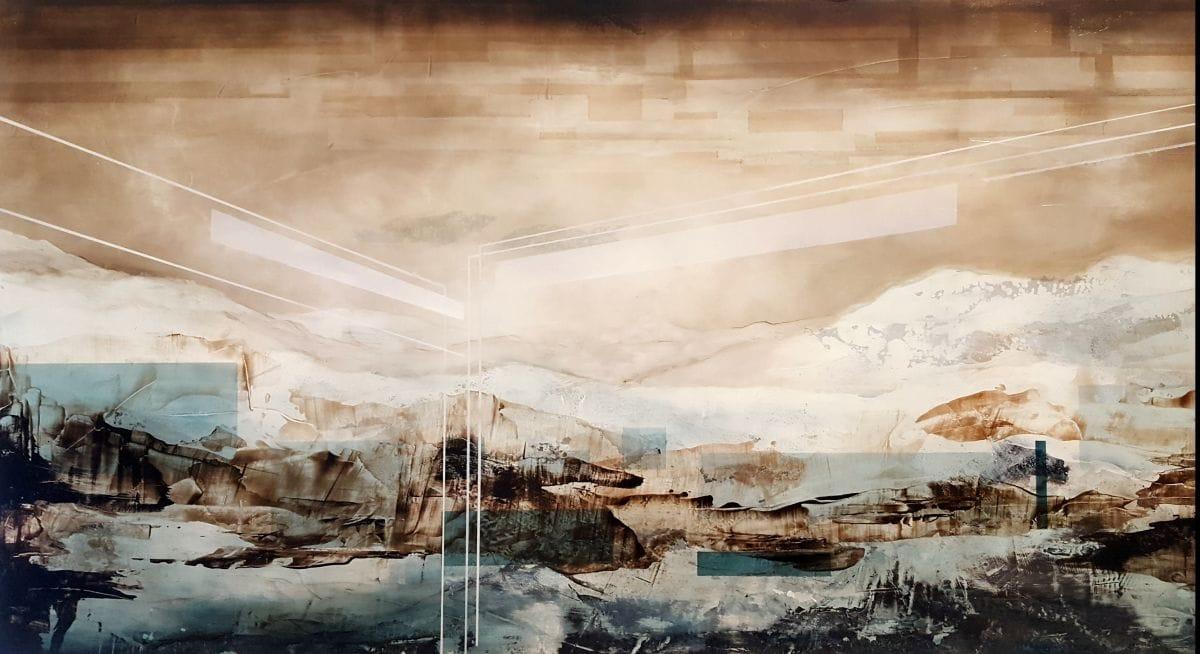 Kunst: vantage III van kunstenaar Joachim van der Vlugt