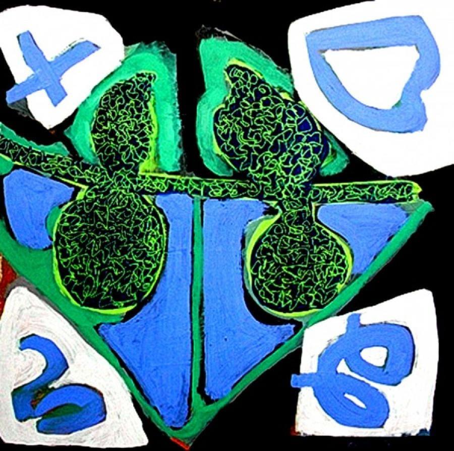 Kunst: verliefdheid van kunstenaar  Reinoudt