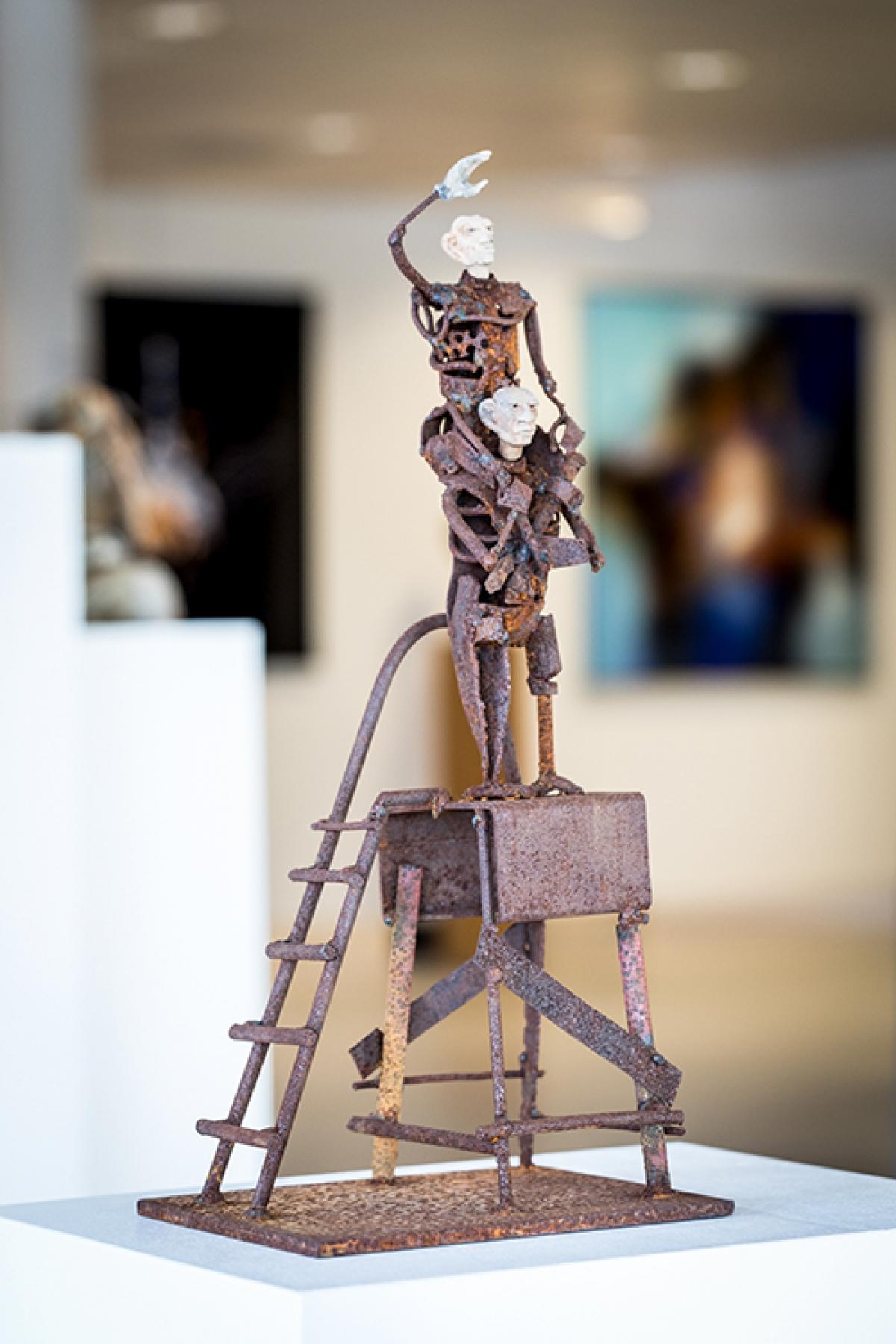 Kunst: Verre vriend van kunstenaar Jan Verschueren
