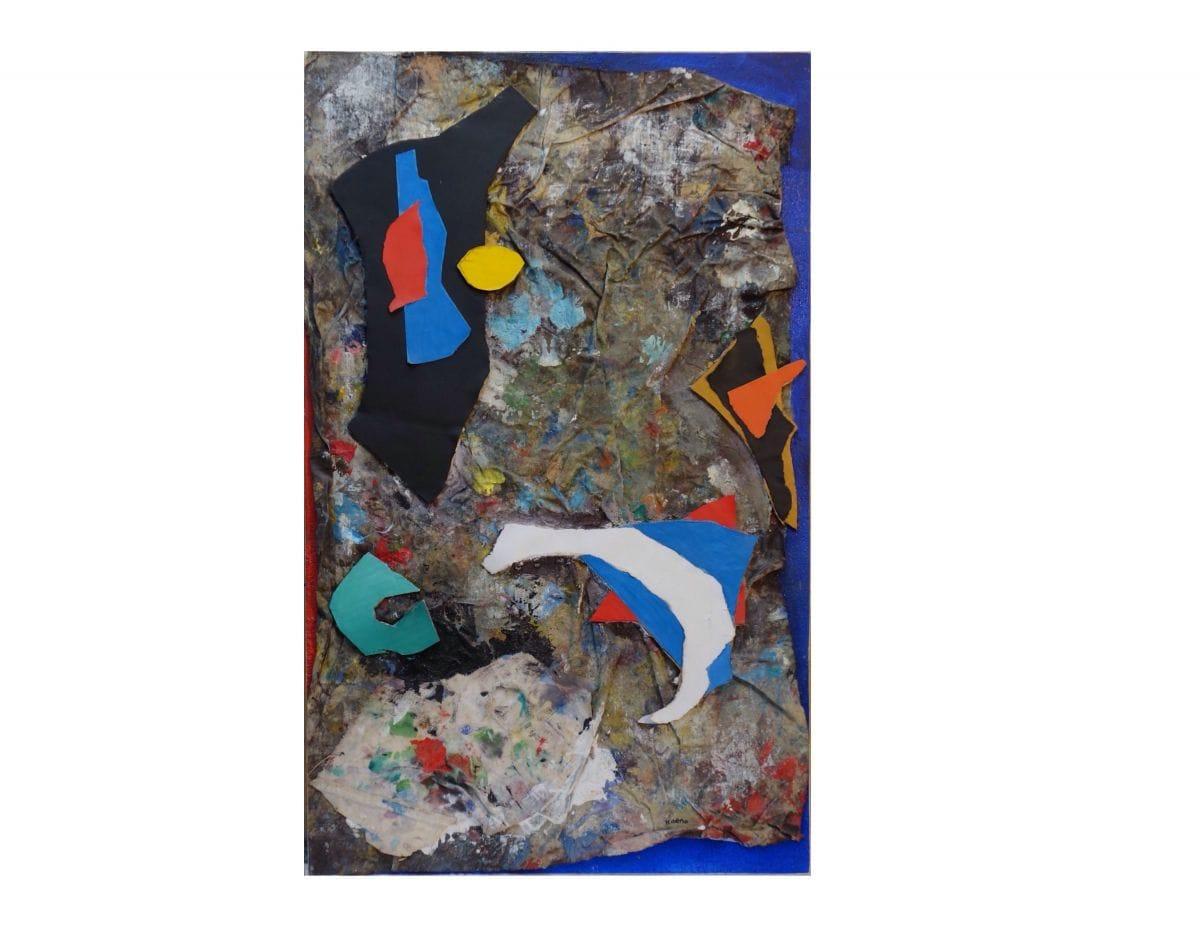 Kunst: verschillende materialen van kunstenaar Koeno Jansen