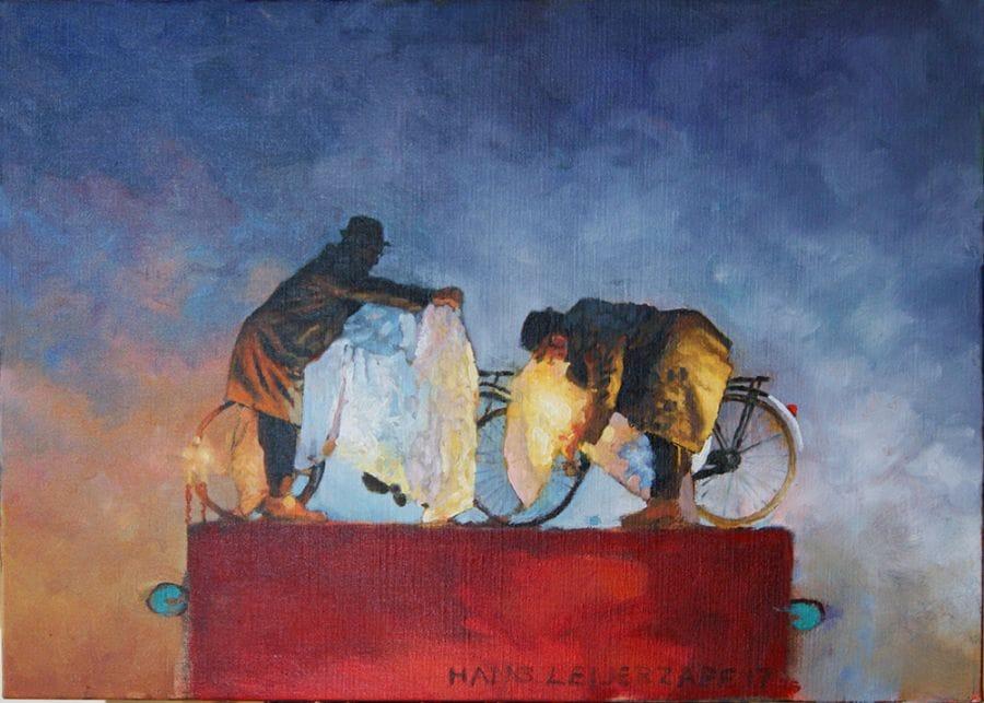 Kunst: Verzachtende omstandigheden van kunstenaar Hans Leijerzapf