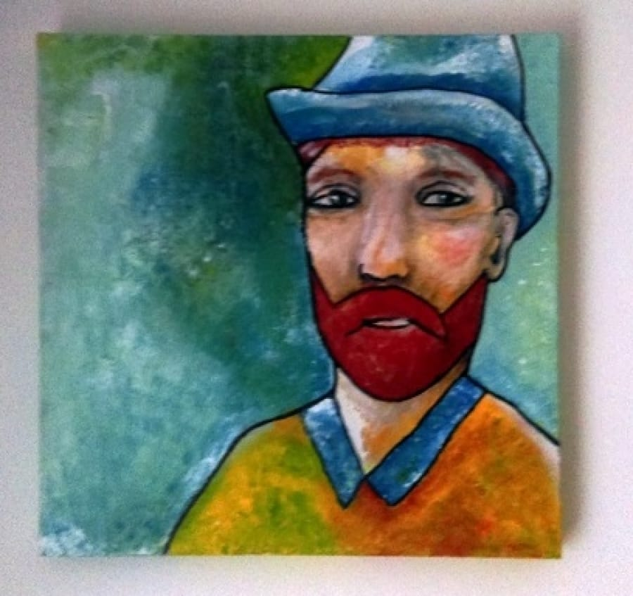 Kunst: Vincent van kunstenaar Carla Broeckx