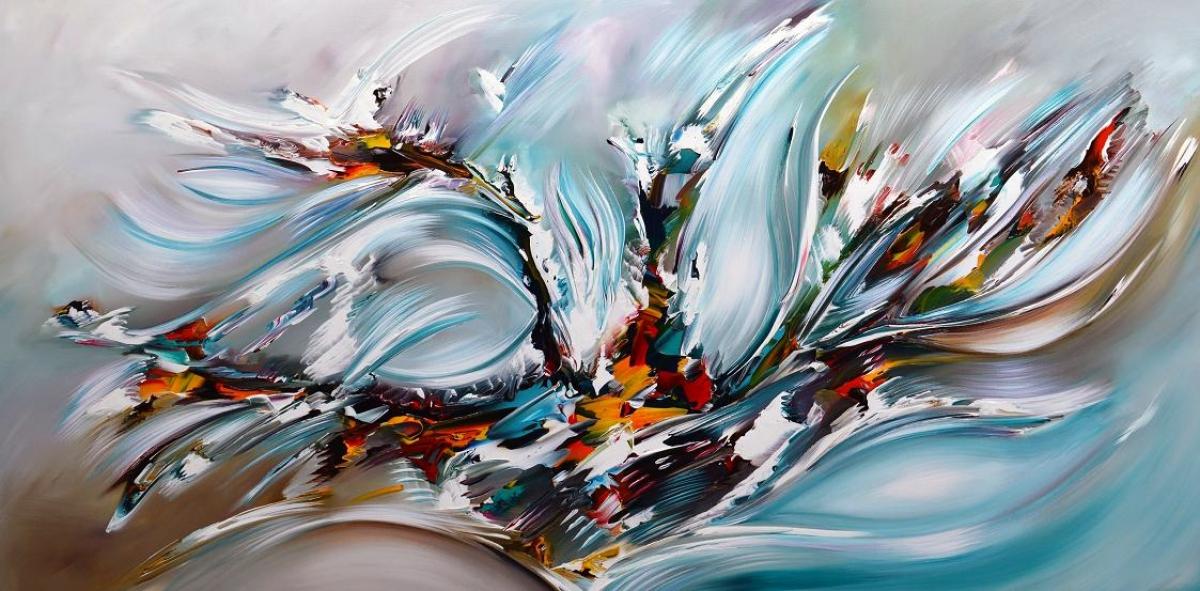 Kunst: Vision van kunstenaar Gena n Gena