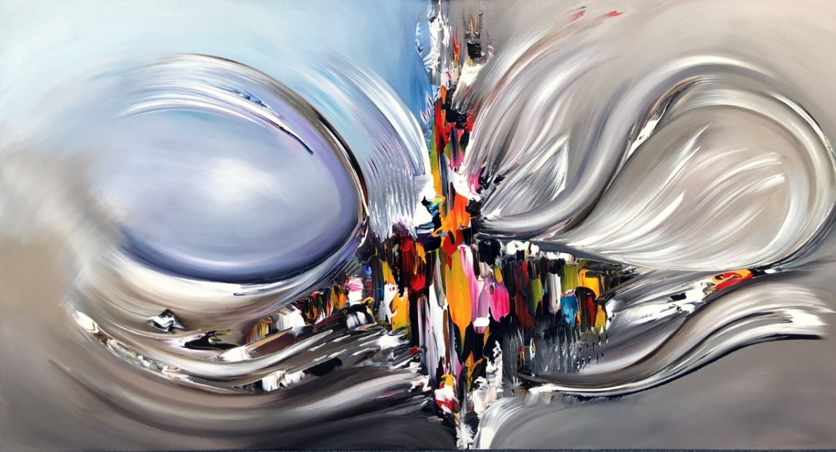 Kunst: Visual Touch van kunstenaar Gena n Gena