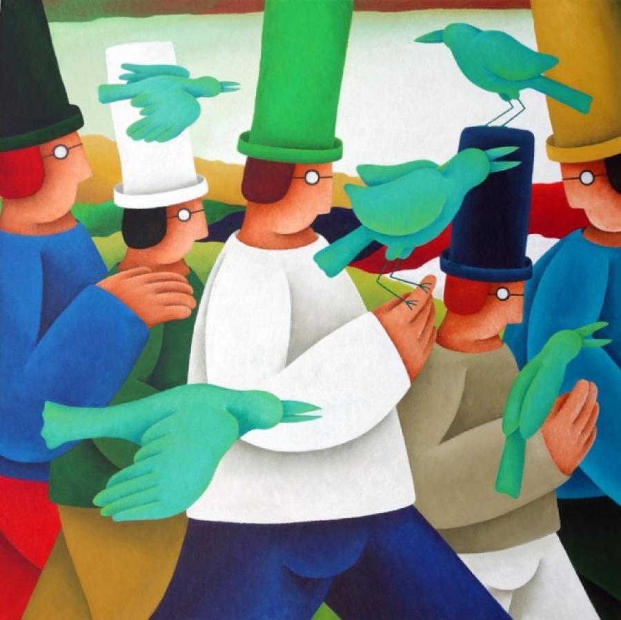 Kunst: Vliegensvlug van kunstenaar Yvonne Zomerdijk