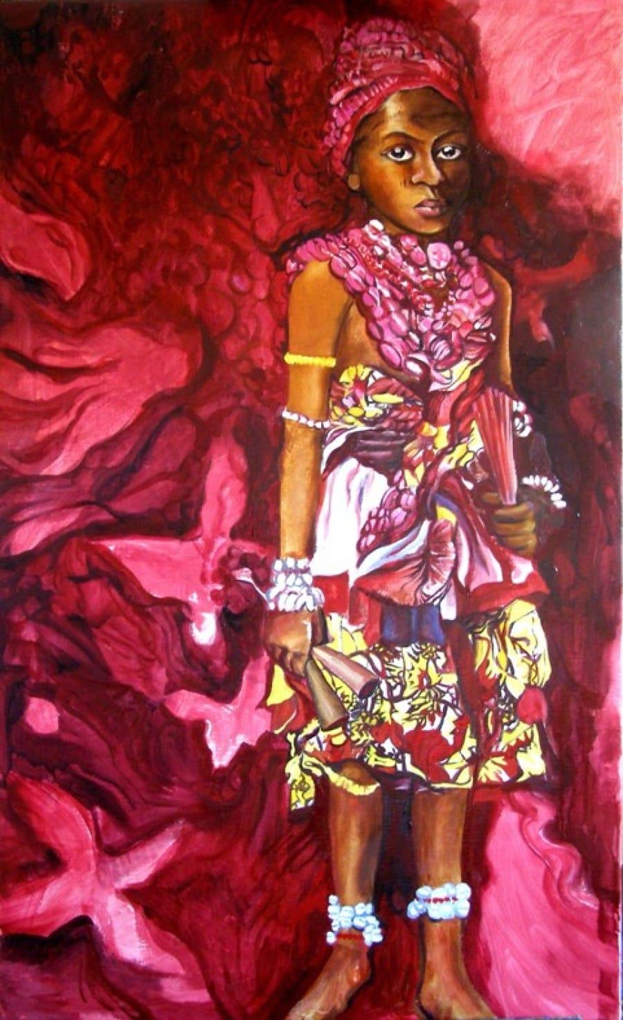 Kunst: Voodoo novice van kunstenaar Sanneke S.I. Griepink