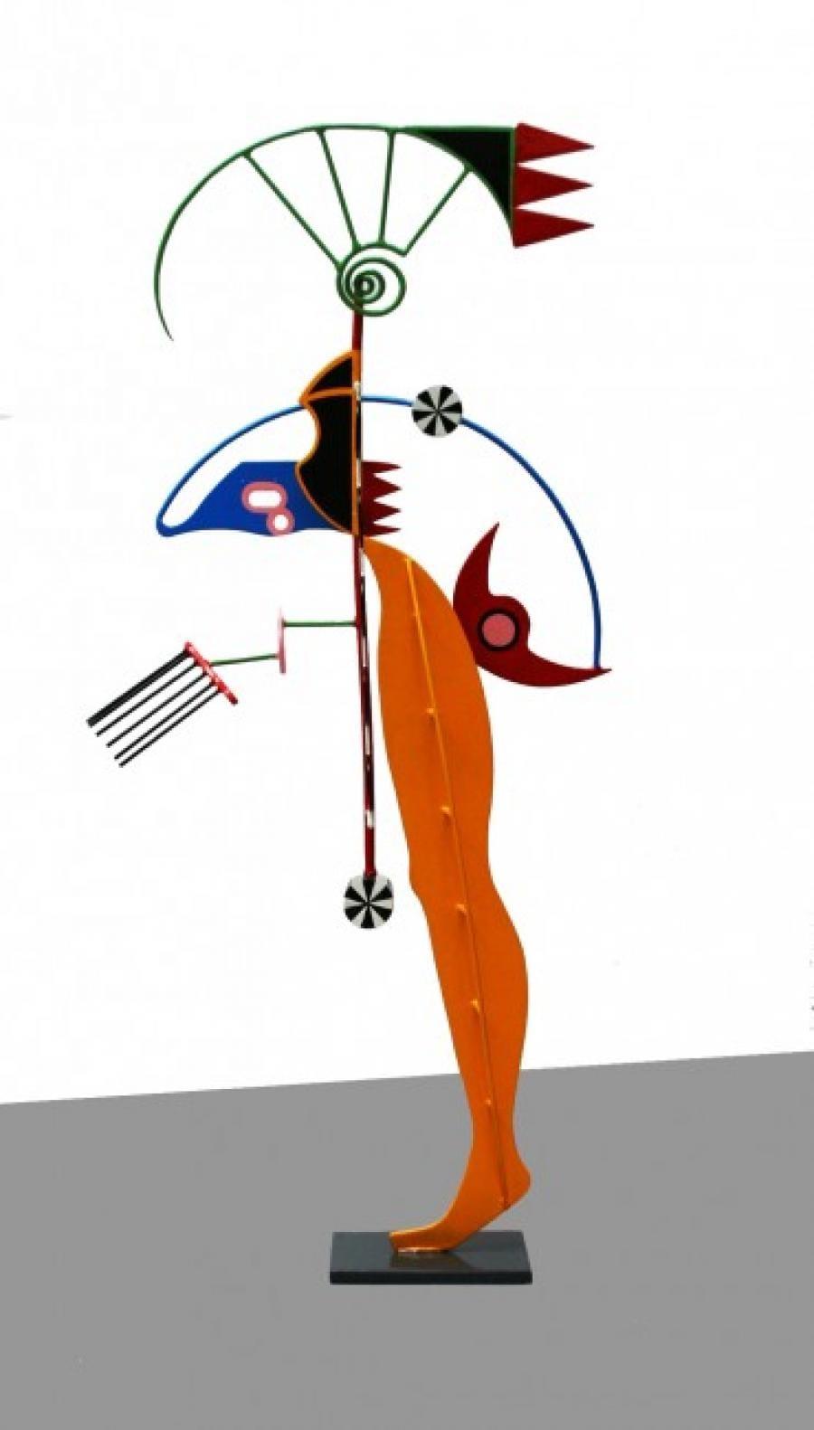Kunst: Voorwaarts 2 van kunstenaar Frans Muhren