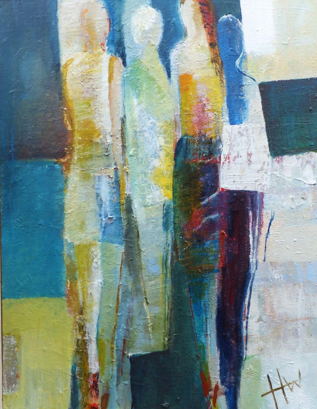Kunst: vrienden van kunstenaar Heleen Wilke