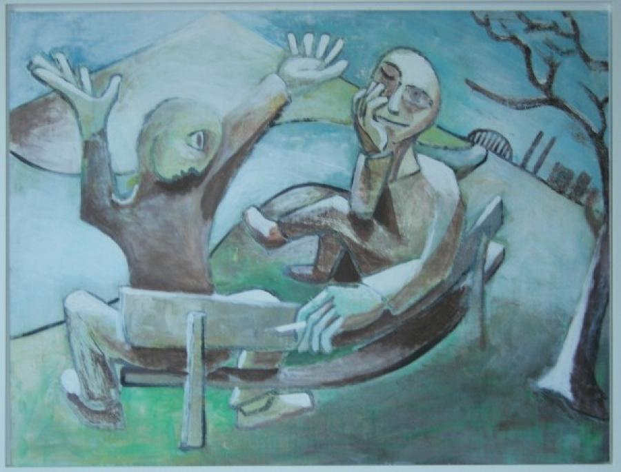 Kunst: vrienden van kunstenaar Koeno Jansen