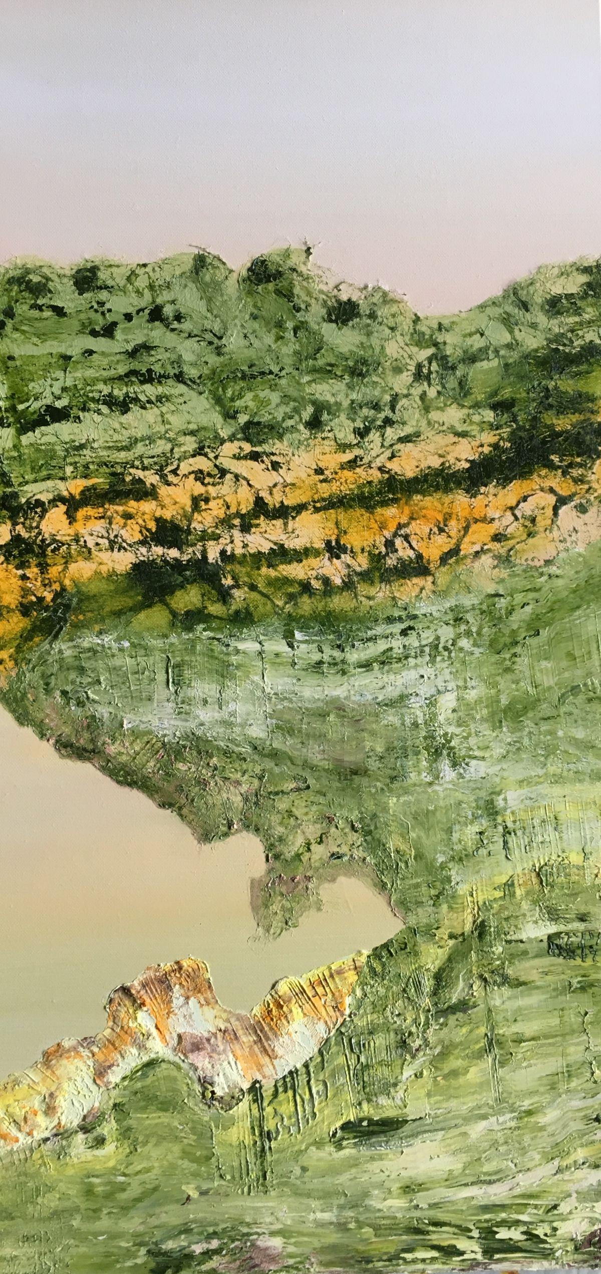 Kunst: Vulkanische grond 02 van kunstenaar Els Vegter