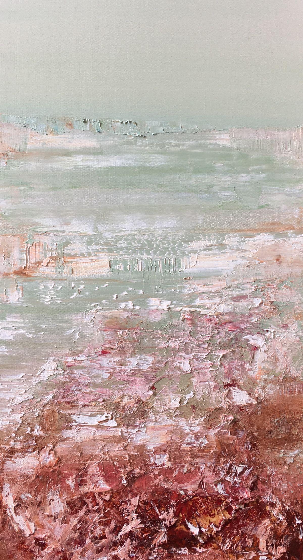 Kunst: Vulkanische grond 03 van kunstenaar Els Vegter