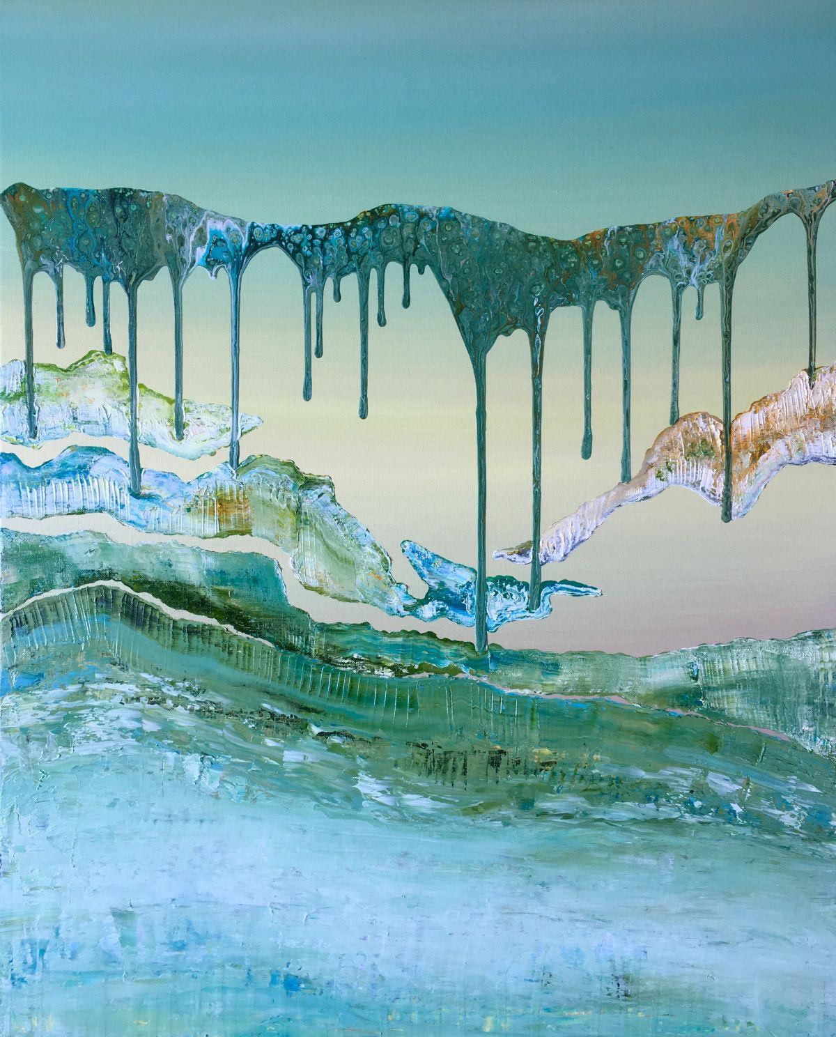 Kunst: Vulkanische grond 04 van kunstenaar Els Vegter