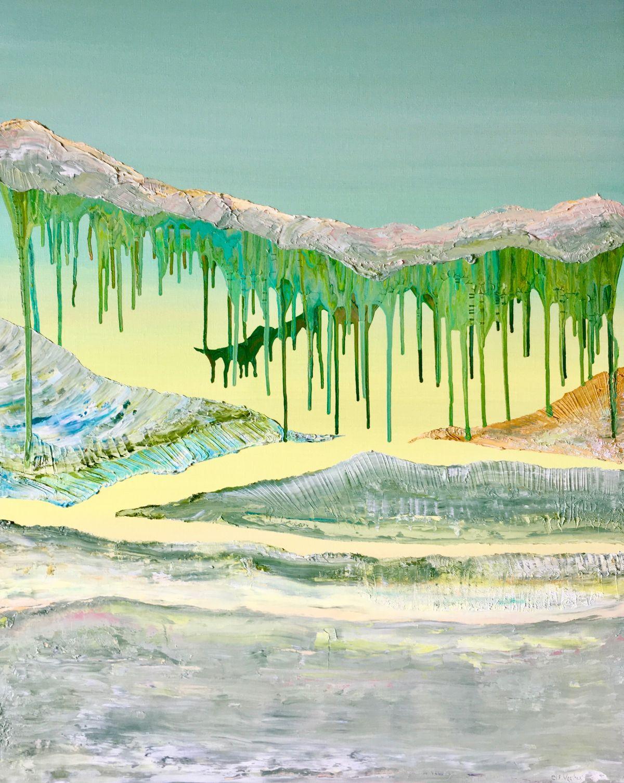 Kunst: Vulkanische grond 05 van kunstenaar Els Vegter