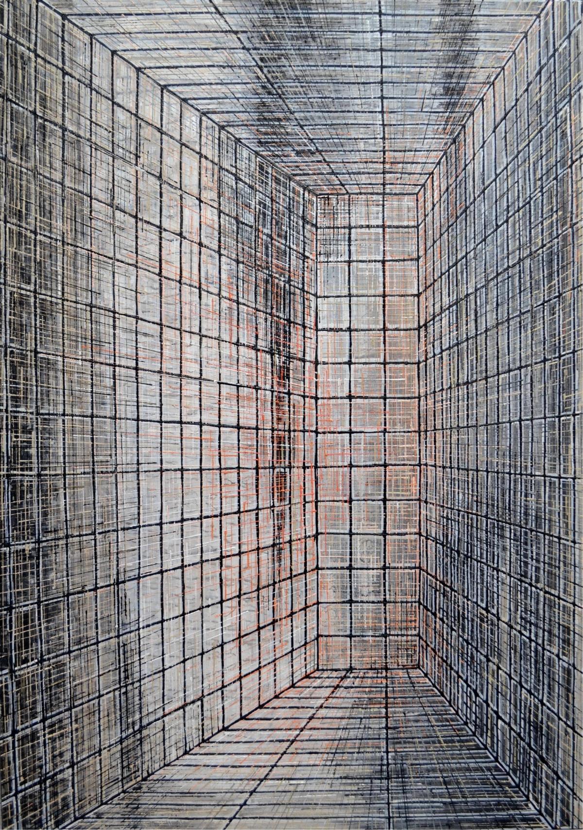 Kunst: W 2019 C van kunstenaar Martin Copier