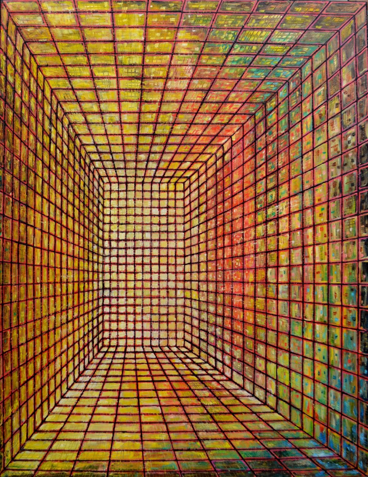 Kunst: W 2019 M van kunstenaar Martin Copier