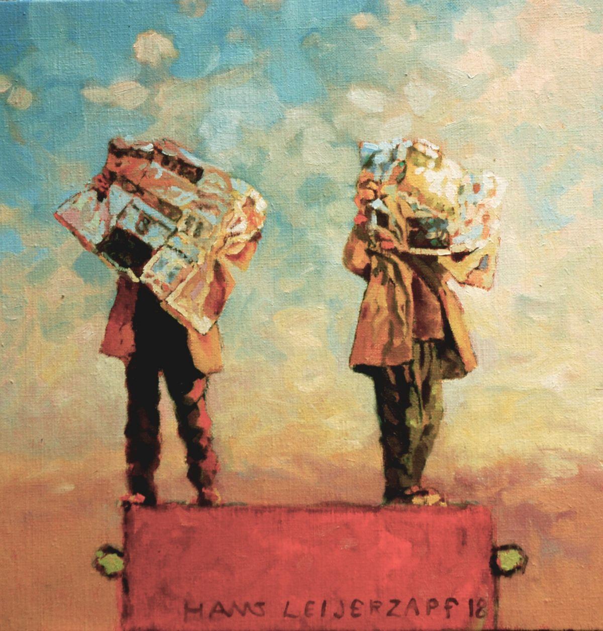Kunst: Waar ze het fijne niet van weten van kunstenaar Hans Leijerzapf