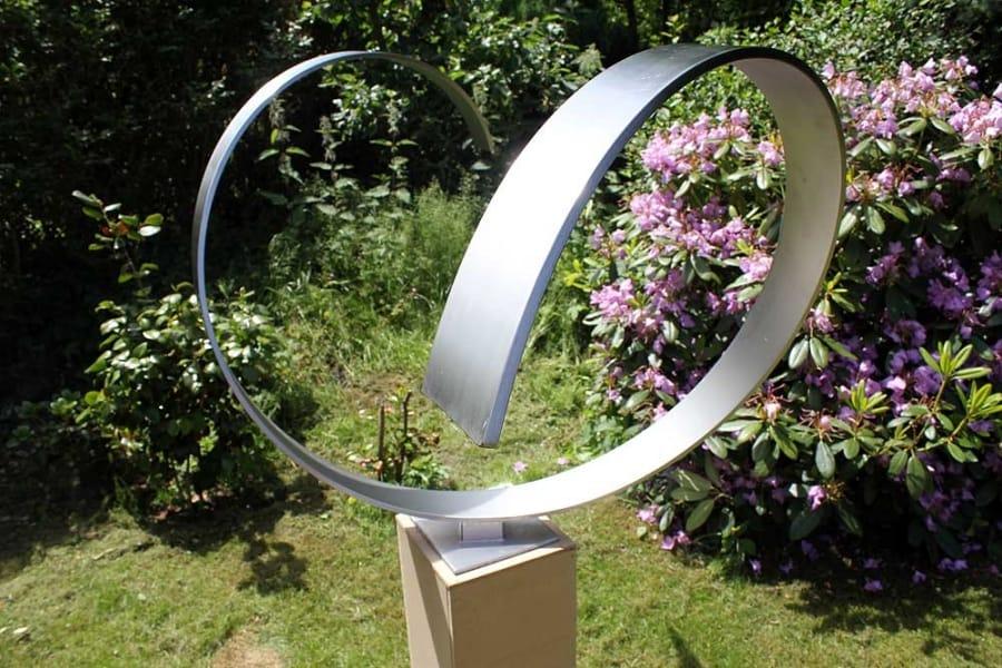 Kunst: Wave-heart van kunstenaar Jeroen Stok