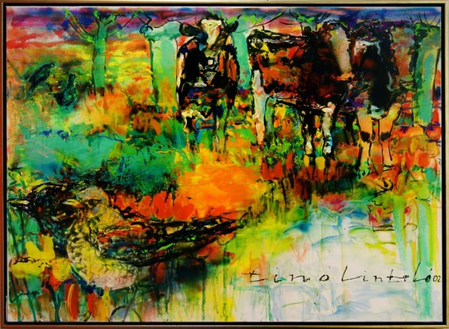 Kunst: We krijgen gezelschap van kunstenaar Tino Lintelo