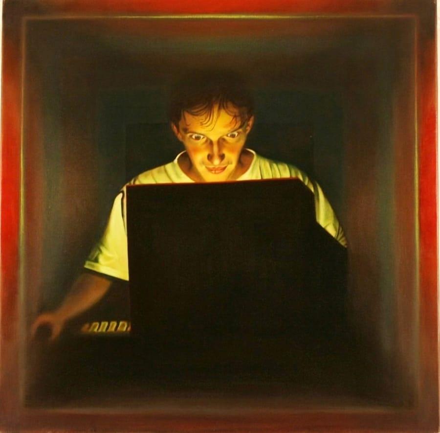 Kunst: web van kunstenaar Leo Wijnhoven