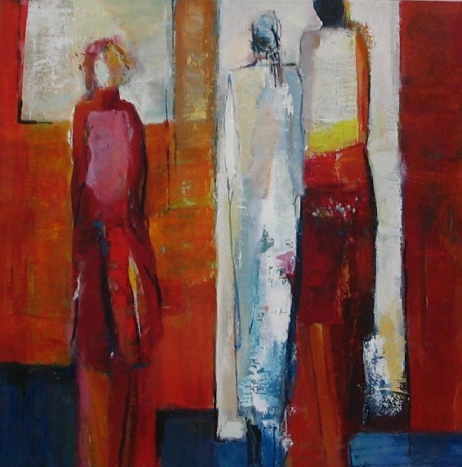 Kunst: Weggaan van kunstenaar Heleen Wilke