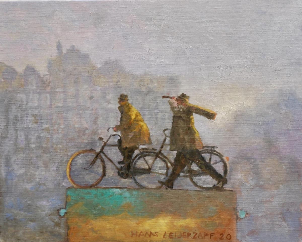 Kunst: Werkelijkheid is anders van kunstenaar Hans Leijerzapf