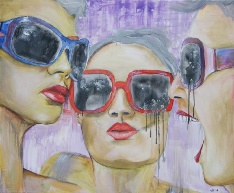 Kunst: What are you looking at? van kunstenaar Tamara Sille