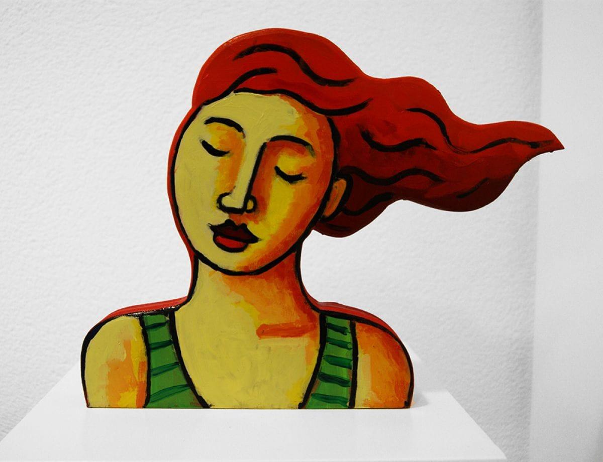 Kunst: Wind II van kunstenaar Jacques Tange