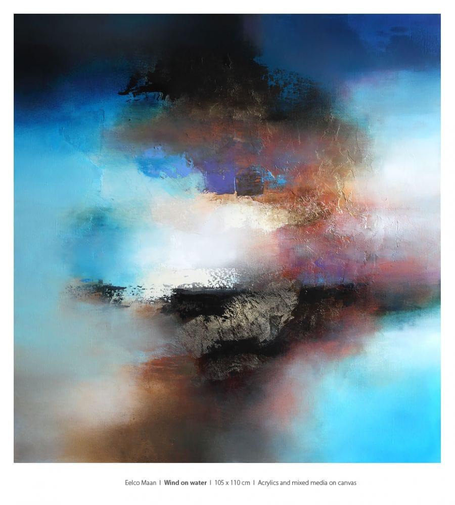 Kunst: Wind on water van kunstenaar Eelco Maan