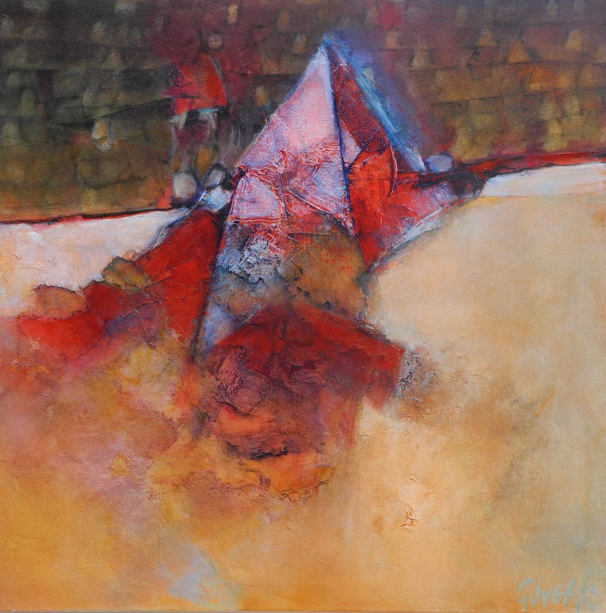 Kunst: Windhorse van kunstenaar Sietse Goverts