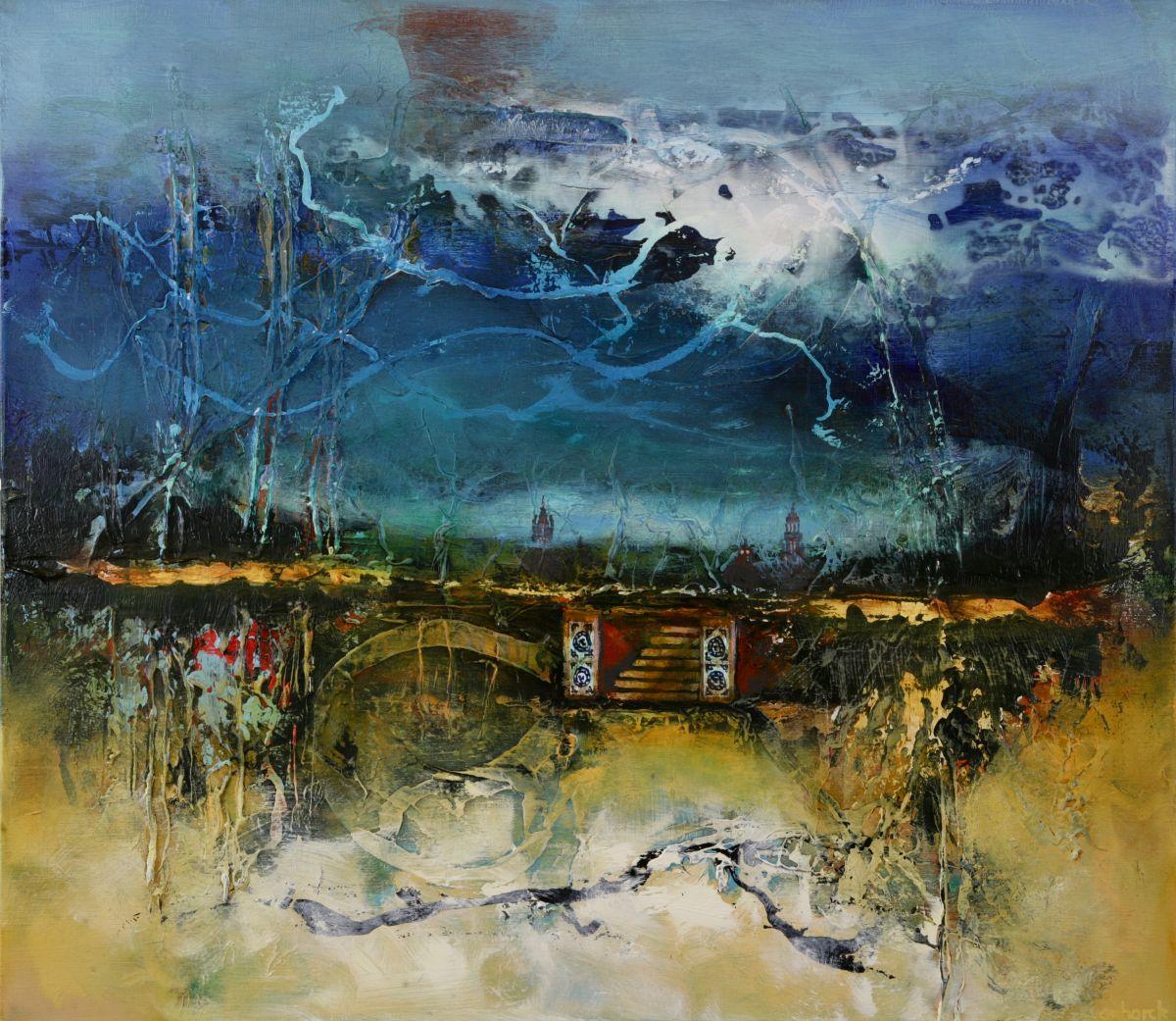 Kunst: Wintergarden van kunstenaar Hans Vanhorck
