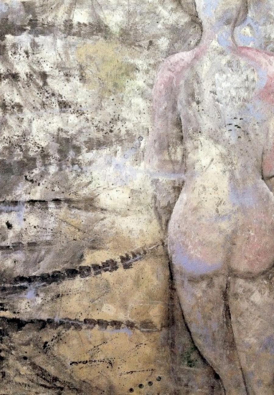 Kunst: woman van kunstenaar Carla Broeckx