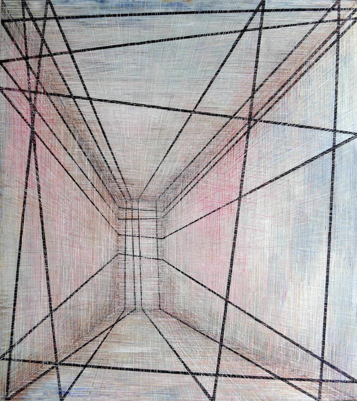 Kunst: X 2019 B van kunstenaar Martin Copier