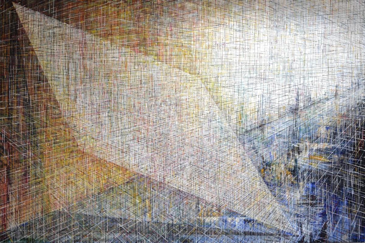 Kunst: X 2020 B van kunstenaar Martin Copier