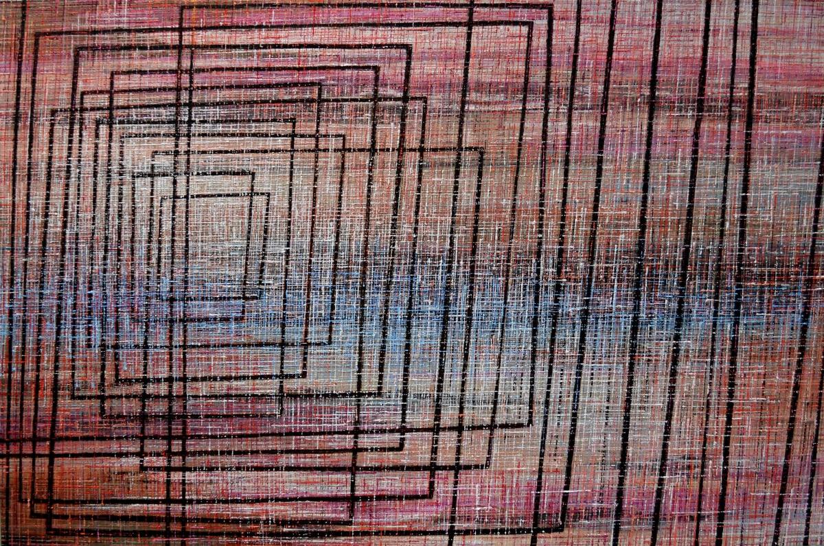 Kunst: X 2020 C van kunstenaar Martin Copier