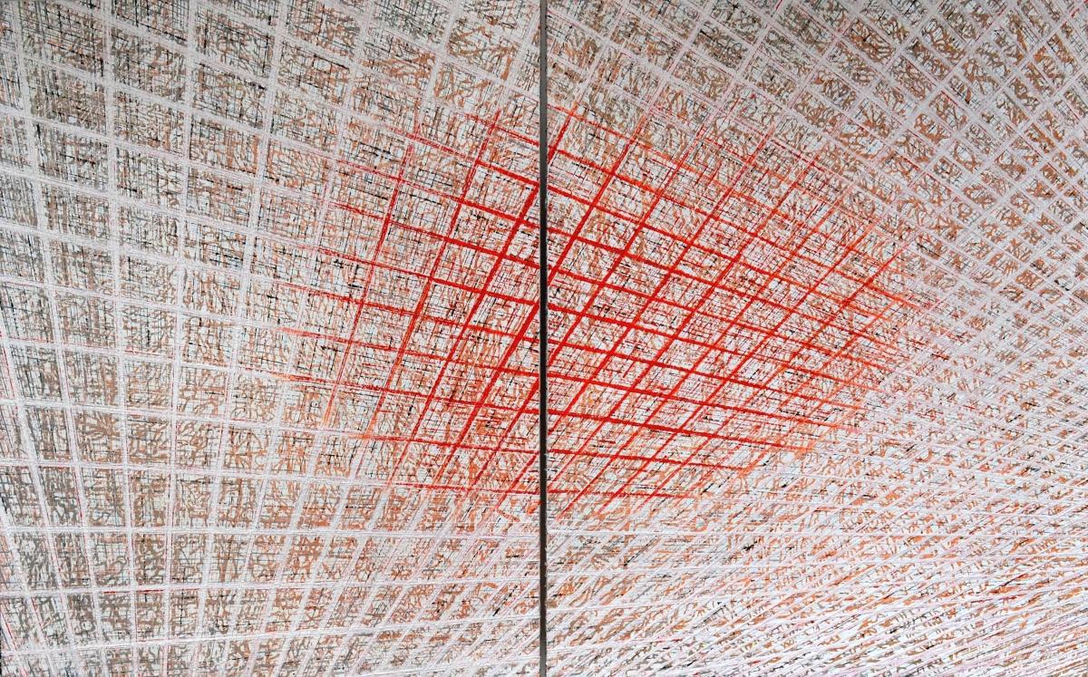 Kunst: X 2020 G van kunstenaar Martin Copier