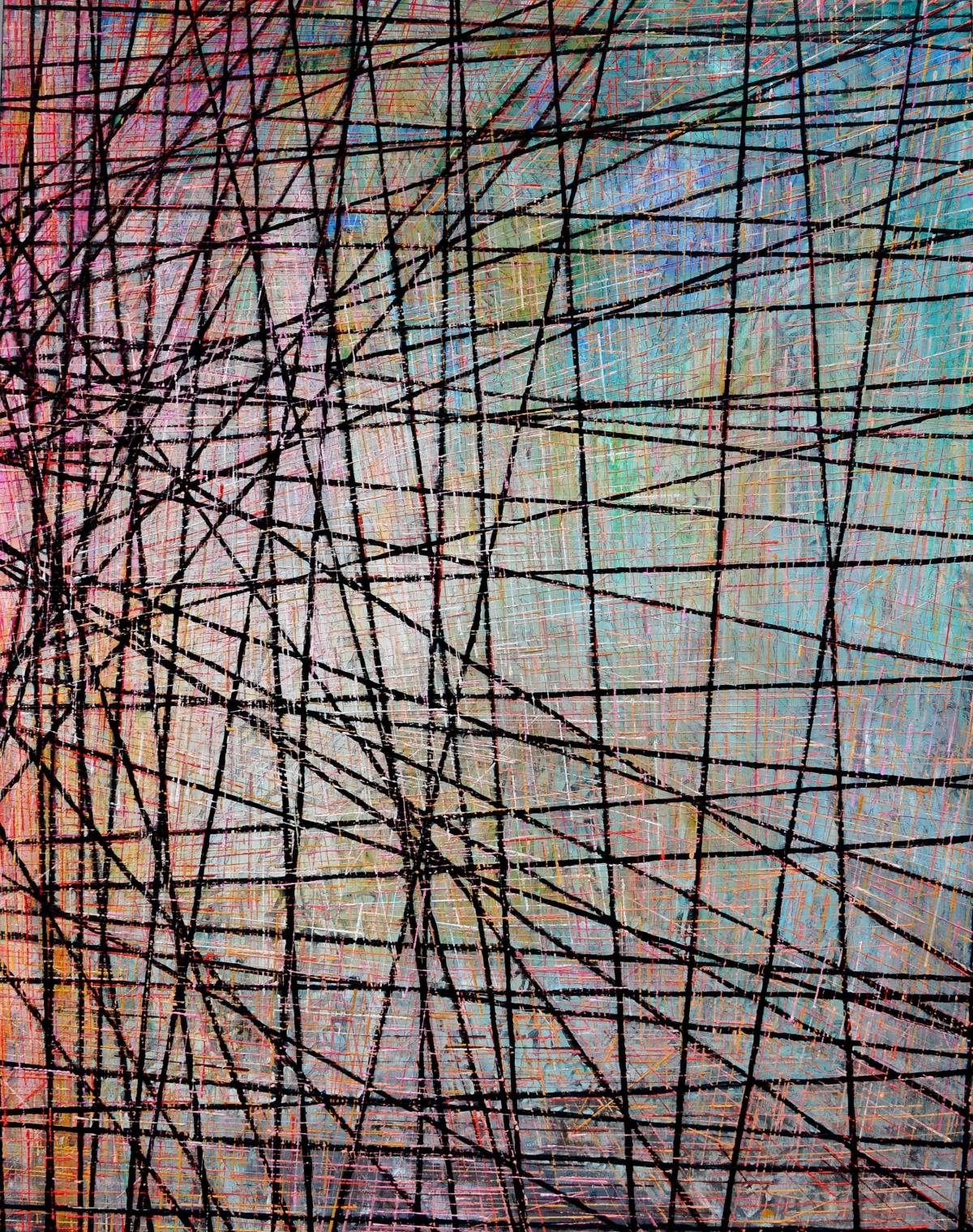 Kunst: X 2020 J van kunstenaar Martin Copier