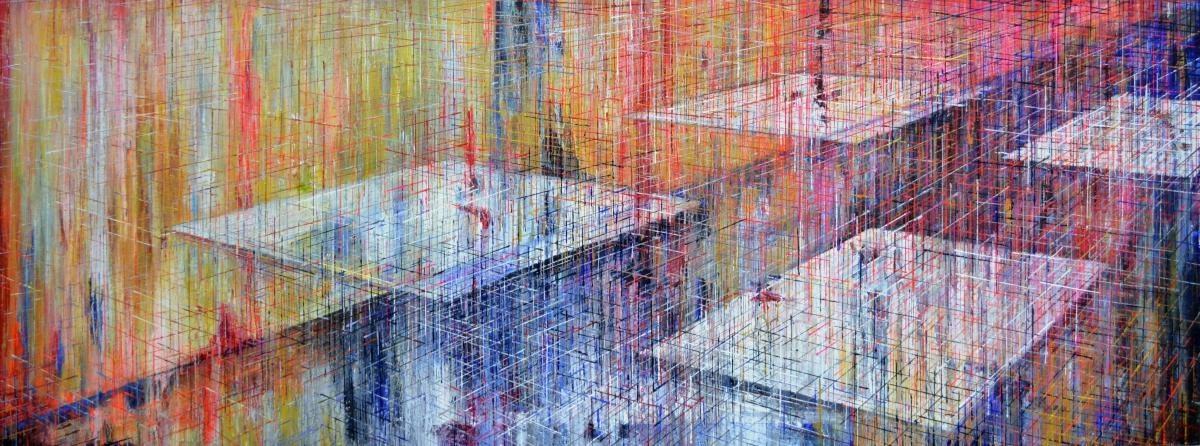 Kunst: X 2020 N van kunstenaar Martin Copier