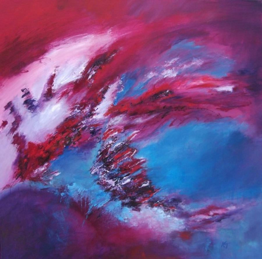 Kunst: Year of the Dragon van kunstenaar Kitty Tijbosch