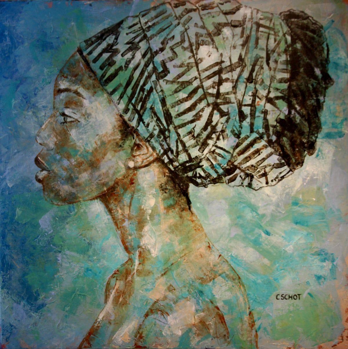 Kunst: 'Yemayá' van kunstenaar Coby Schot