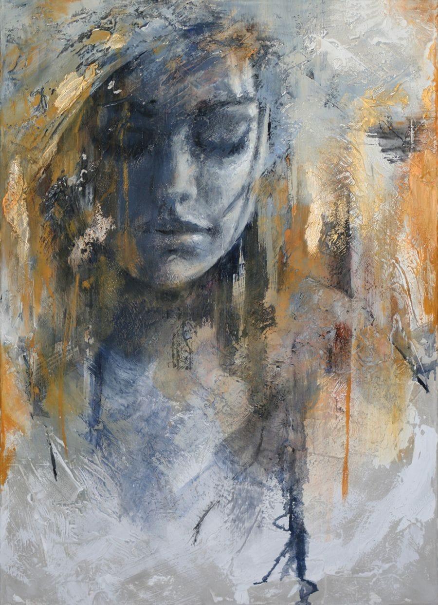 Kunst: You make me shy van kunstenaar Evelyn Hamilton